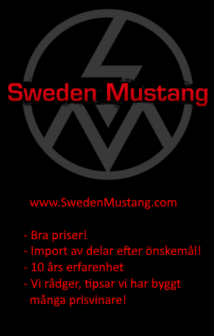 Sweden Mustang, mustangdelar online sedan 2007